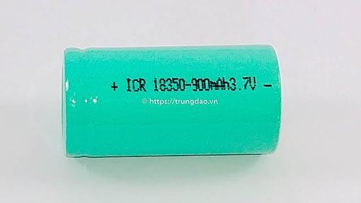pin 18350 900mAh