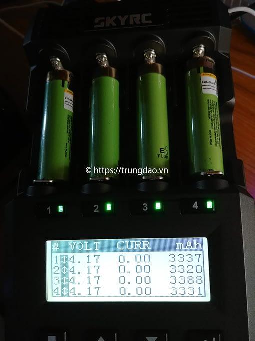 pin Liitokala 18650 3400mAh 3.7V tich hop cong sac micro usb