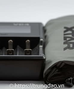 XTAR VC4 portable battery charger front-side