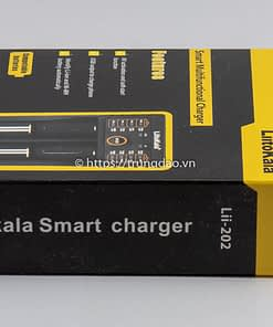 Bộ sạc pin LiitoKala Lii-202 (LiitoKala Lii-202 battery charger box)
